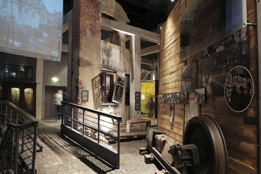 ekspozycja w Muzeum Powstania Warszawskiego