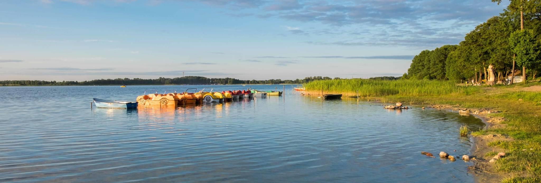 Jezioro Świętajno Narckie widok