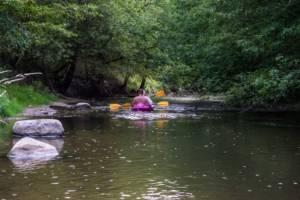 Kajaki na rzece Świder