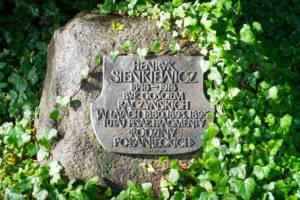 tablica pamiątkowa Henryka Sienkiewicza