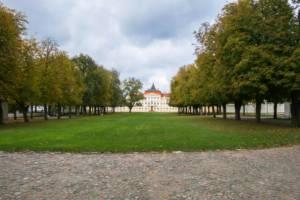 dziedziniec w pałacu w Rogalinie