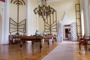 wnętrza pałacowe w Pałacu w Rogalinie