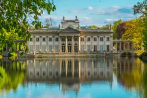 Łazienki Królewskie - Pałac na wodzie