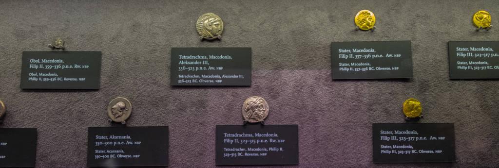 monety w Centrum Pieniądza NBP