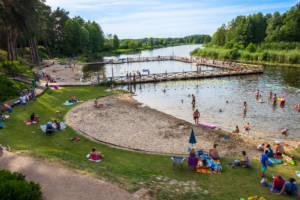 Jezioro w Kozienicach - kąpielisko