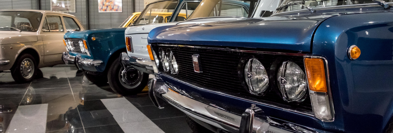 zbliżenie w Muzeum Polskiego Fiata