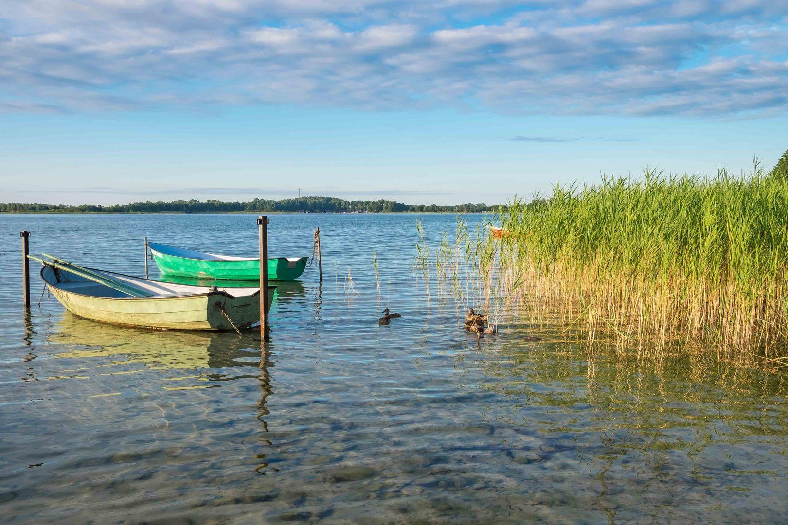Jezioro w Narty - czysta woda