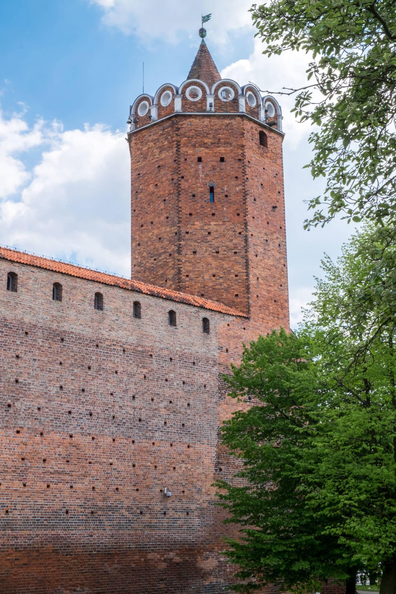 Zamek w Łęczycy – wieża