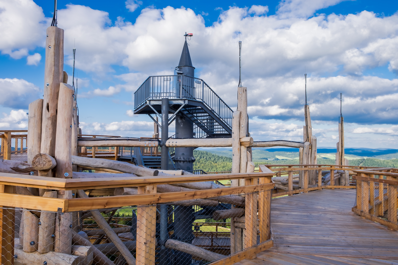 wieża widokowa krynica 12